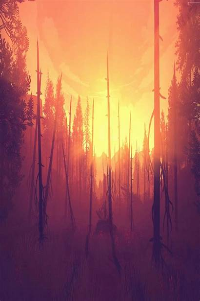 4k Wallpapers Cool Firewatch 1080p Ps4 Phone