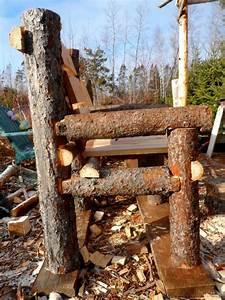 Bancos y sillas hechos con troncos, Ideas super originales para decorar tu jardín! Ecología Hoy