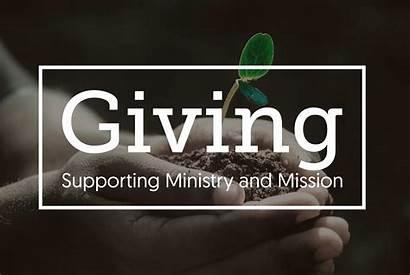 Giving Church Give God Options Worship Act