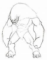 Yeti Drawing Drawings Deviantart Getdrawings sketch template