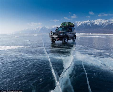 impressive frozen lakes photography