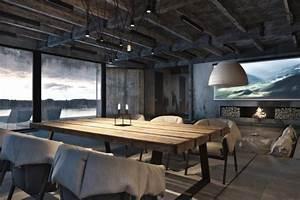 Deco Maison Industriel : maison style industriel de igor sirotov ~ Teatrodelosmanantiales.com Idées de Décoration