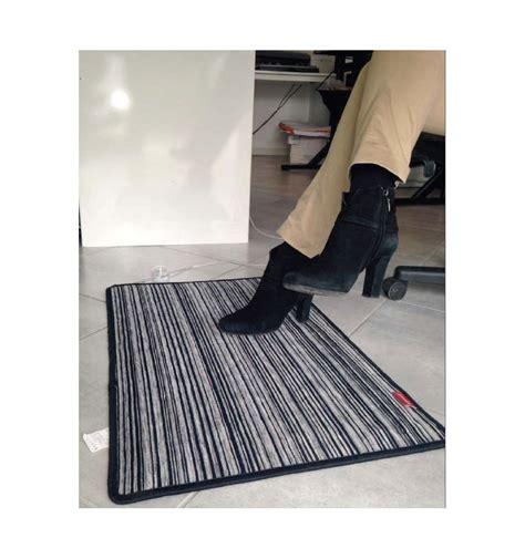 tappeto riscaldante elettrico tappeto riscaldante elettrico 100w cm 70 x 50 nero