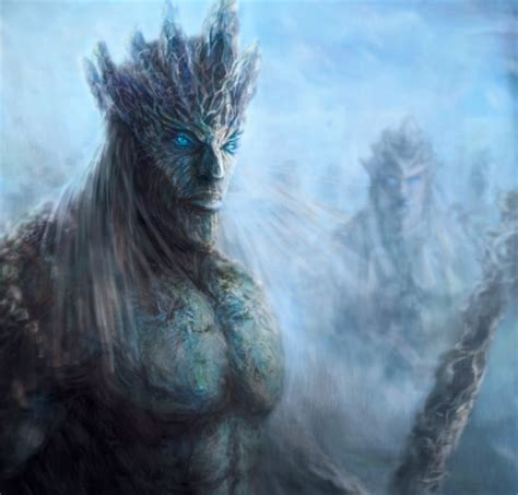 game  thrones white walkers fantasy abstract