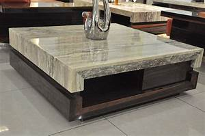 rustic-modern-coffee-table-marble : Rustic Modern Coffee