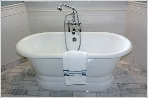 bathroom remodel  standing tub traditional