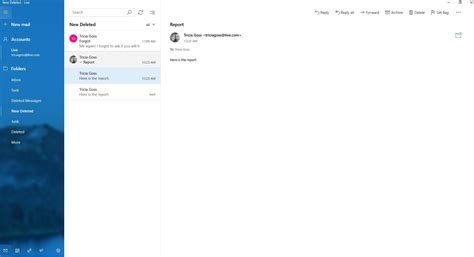 Office 365 Outlook Ungroup Emails by Grouping Conversation Threads In Windows 10 Mail And Outlook