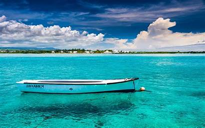 Water Beach Boat Tropical Sea Turquoise Island