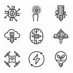 Future Technology Futuristic Icon Vector Icons Symbol