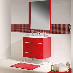 des nouveautes salle de bain pop ethno chics chez With carrelage rouge salle de bain