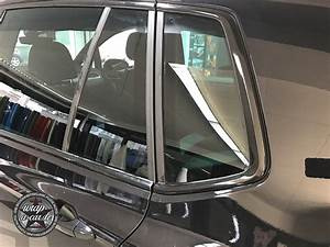 Auto Fenster Folie : chrom fensterleisten foliert scheibent nung by wrap a car ~ Kayakingforconservation.com Haus und Dekorationen