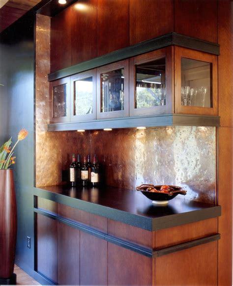 Bar Backsplash Ideas by Copper Backsplash Ideas Home Bar Contemporary With Bar