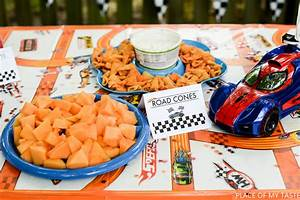 PARTY IDEAS FOR BOYS HOT WHEELS PARTY PRINTABLES - PLACE