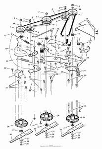 34 Murray Lawnmower Belt Diagram