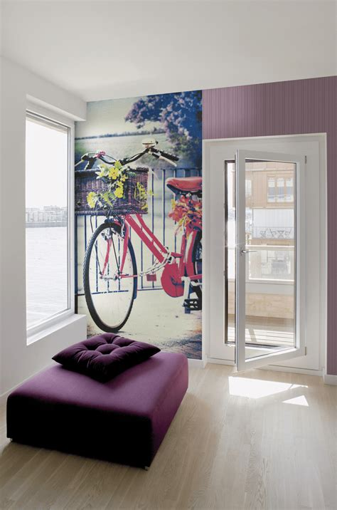 tappezzeria design carta da parati restyling per una parete di casa cose