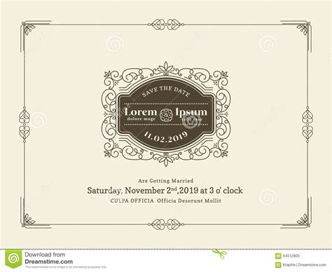 invitation card border templates cloudinvitationcom