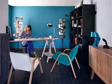 bureau bleu déco bureau bleu