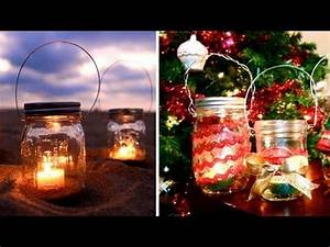 DIY Mason Jar Lanterns & Holiday Gift Idea
