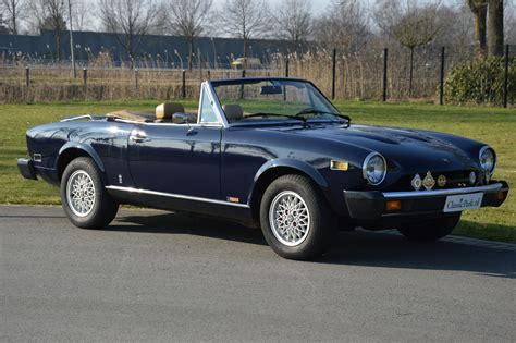 Fiat 124 Sport Spider by Classic Park Cars Fiat 124 Sport Spider