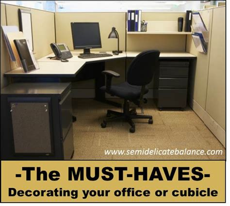 home design hacks must haves in office cubicle decor
