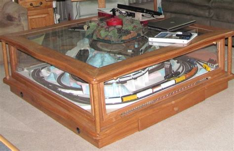 Pdf Diy Coffee Table Train Layout Plans Download Chest