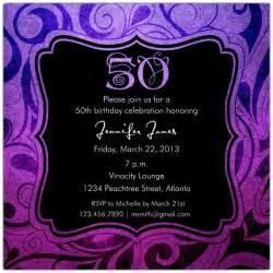 brilliant emblem 50th birthday invitations paperstyle