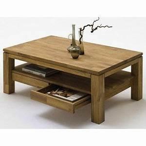Table Basse Avec Tiroir : tables basses en bois massif royale deco meubles pinterest table basse en bois massif ~ Teatrodelosmanantiales.com Idées de Décoration