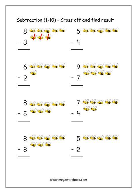 free math worksheets number matching megaworkbook animals
