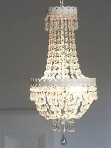 Lampe Mit Kristallen : kronleuchter beau chateau wei shabby chic h ngelampe deckenlampe mit kristallen ~ Orissabook.com Haus und Dekorationen