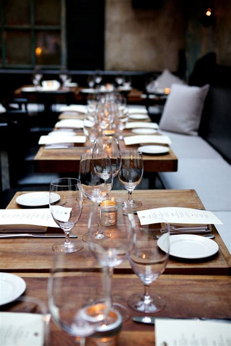 restaurant table settings 1000 ideas about restaurant tables on pinterest cafe design restaurant design and coffee