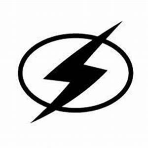 Pics For > Flash Superhero Logo Black And White