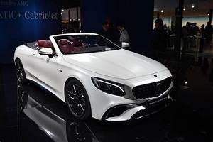 Mercedes S63 Amg : iaa frankfurt 2017 mercedes amg s63 cabriolet facelift ~ Melissatoandfro.com Idées de Décoration