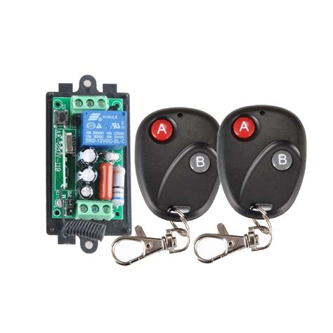 wireless light switch transmitter and receiver receiver 2transmitter 220v 1ch rf wireless remote switch