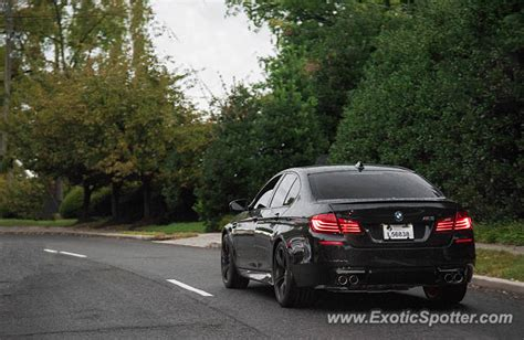 Bmw M5 Spotted In Arlington, Virginia On 09272016