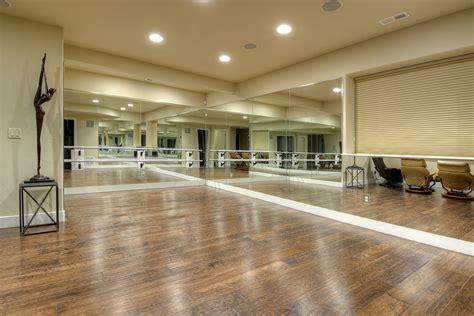 Dance Studio In New Home Basement  Stauffer & Sons
