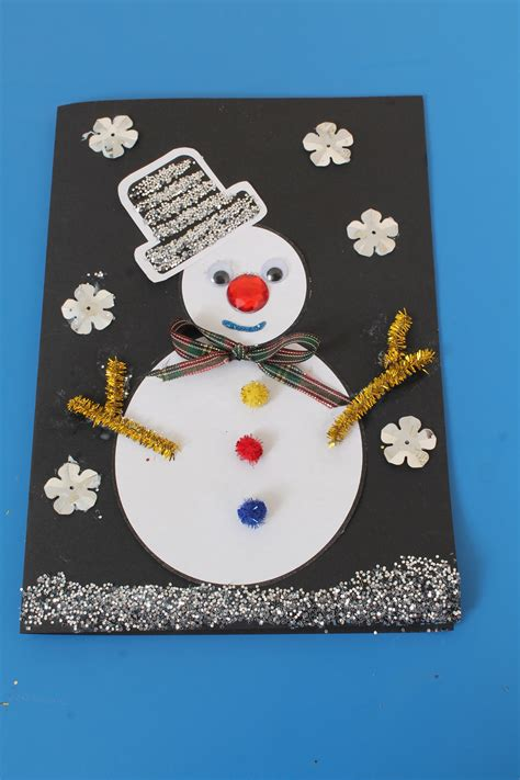 Christmas Card Craft Idea For Childrenearly Years Resources Blog