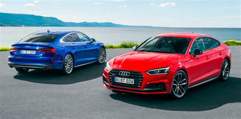 2017 Audi A5 Sportback, S5 Sportback Pricing And Specs