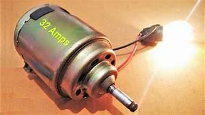Free Energy Generator From 12v Motor 500w