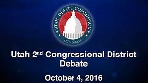 2nd Congressional District Debate Between Charlene ...