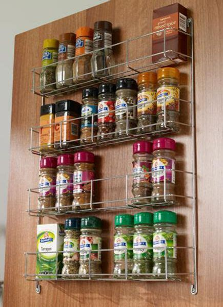 Spice Rack Door Mounted by Door Mounted Spice Rack Lark Larks