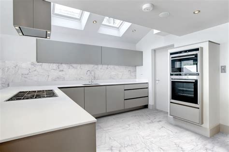 marble tile kitchen bianco venatino marble tile modern kitchen toronto 4022