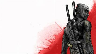 Deadpool Katana Samurai Ninjas Wade Wilson Wallpapers