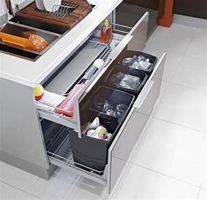 Poubelle Sous Evier Ikea : pour une cuisine ergonomique ce grand tiroir est quip de ~ Dailycaller-alerts.com Idées de Décoration