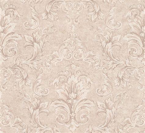 versace ii classic damask wall paper beige metallic