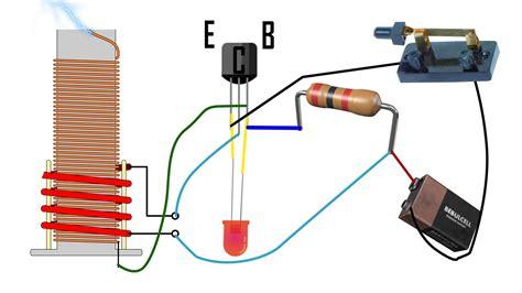 mini electric generator how to mini tesla coil easy circuit explanation