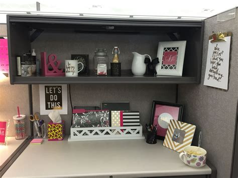 cubical makeover ha  thought