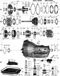 Ford - Transmisiones Automaticas - Despiece - Componentes