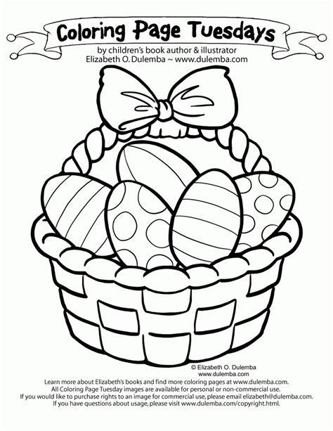 easter basket coloring pages easter egg basket coloring pages coloring home