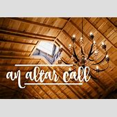 an altar call