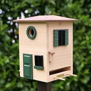 wildlife garden vogelhaus multiholk toskana plus aktions With katzennetz balkon mit wildlife garden ab